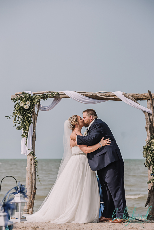 wedding at docks beach house