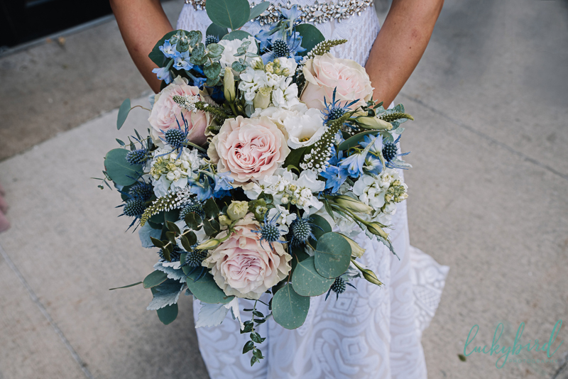 your perfect day wedding bouquet photo