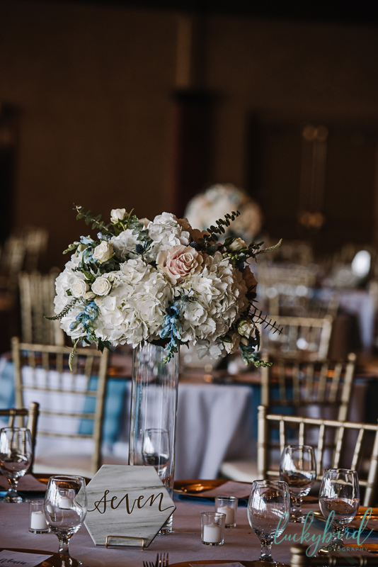 your perfect day wedding reception photo