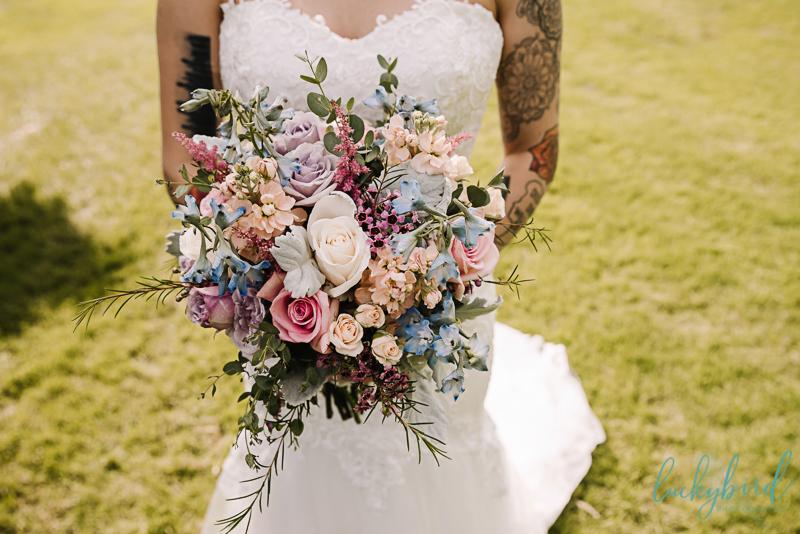 bartz viviano colorful summer bouquet