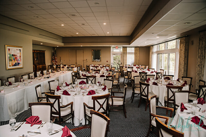 belmont country club reception