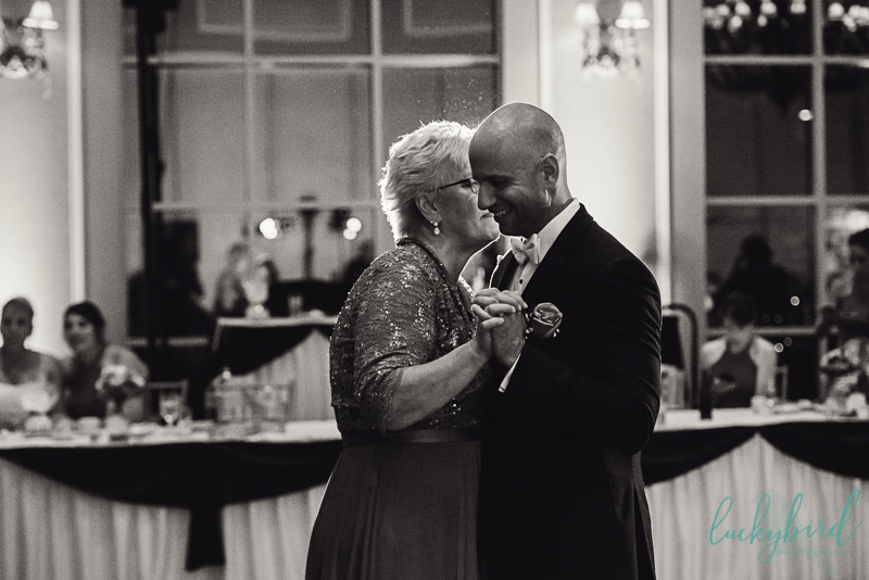 mother son first dance at dinolfos