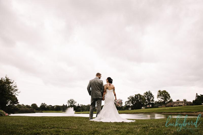 perrysburg summer wedding photo