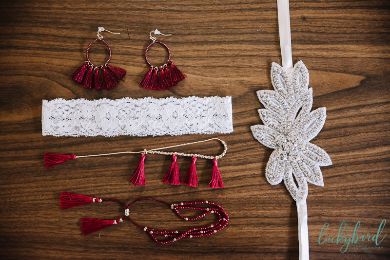 boho tassel jewelry at the stables