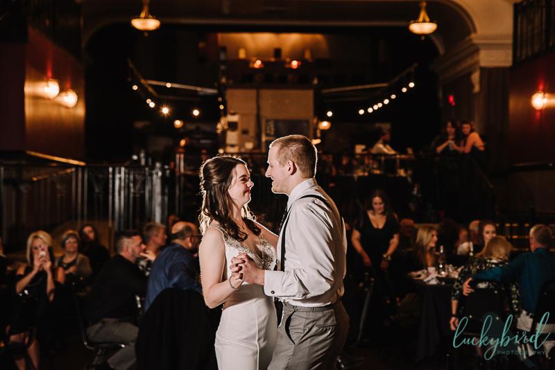 clazel theater wedding photography