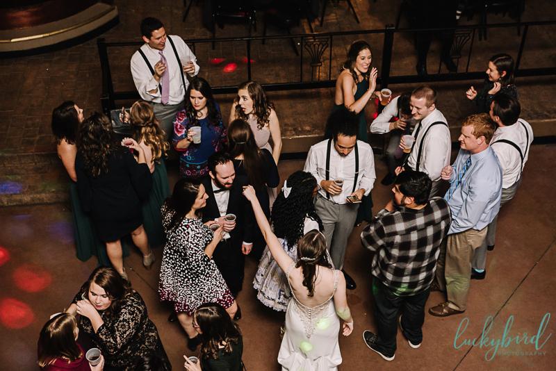 clazel wedding dancing photo