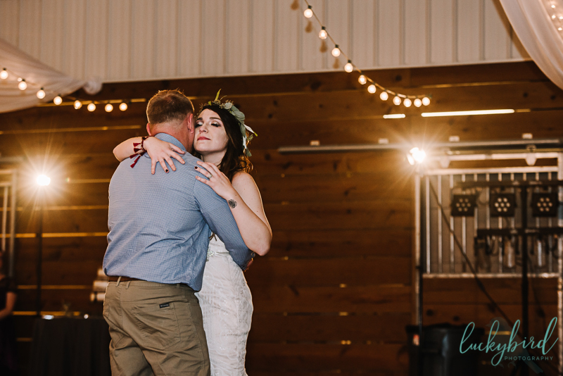 father daughter dance at the stables