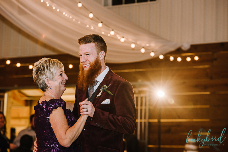 mother son dance at the stables
