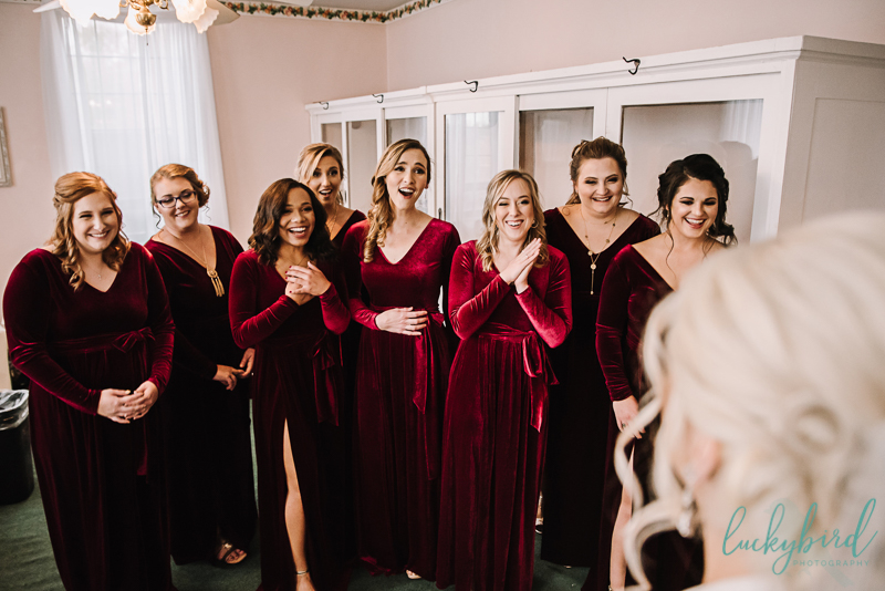 nazareth hall bridesmaids reveal photo