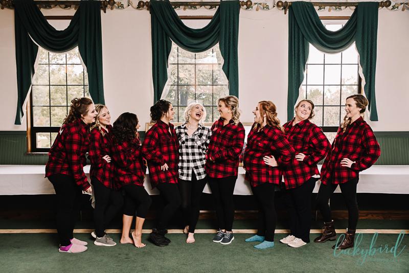 nazareth hall girls in flannel photo