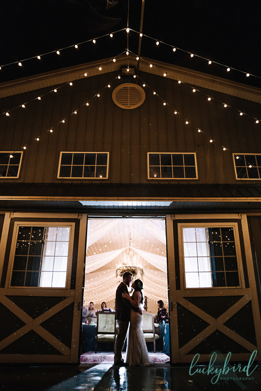 the stables night barn photo