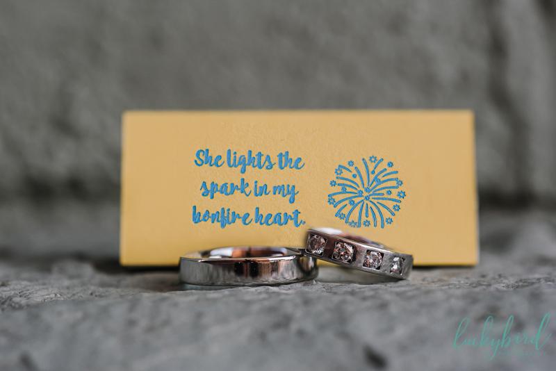 two brides wedding ring photos