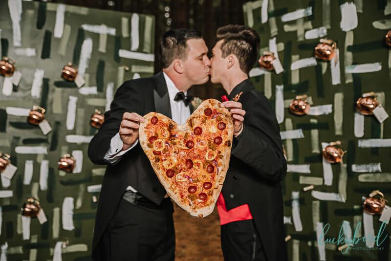 two grooms wedding photography in toledo