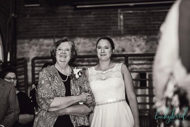via vecchia wedding ceremony
