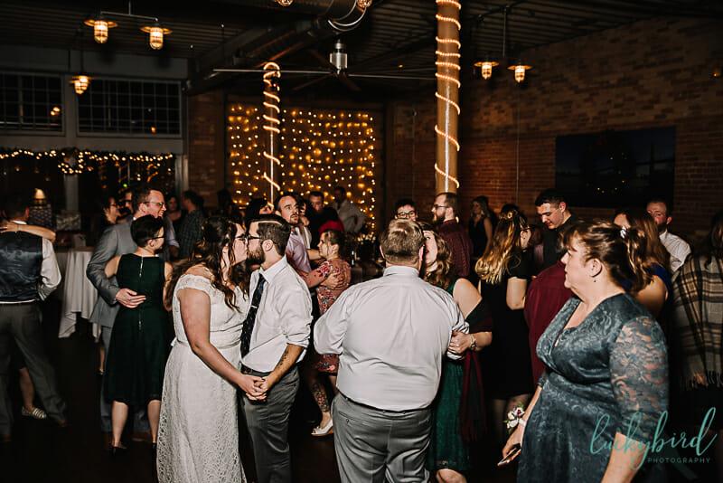 intimate blarney wedding
