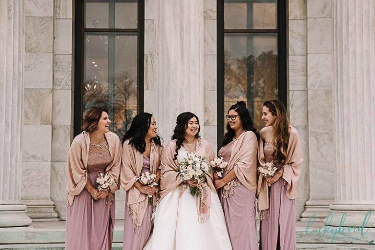 wedding at toledo art museum