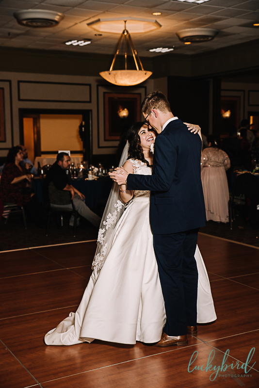 perrysburg wedding first dance