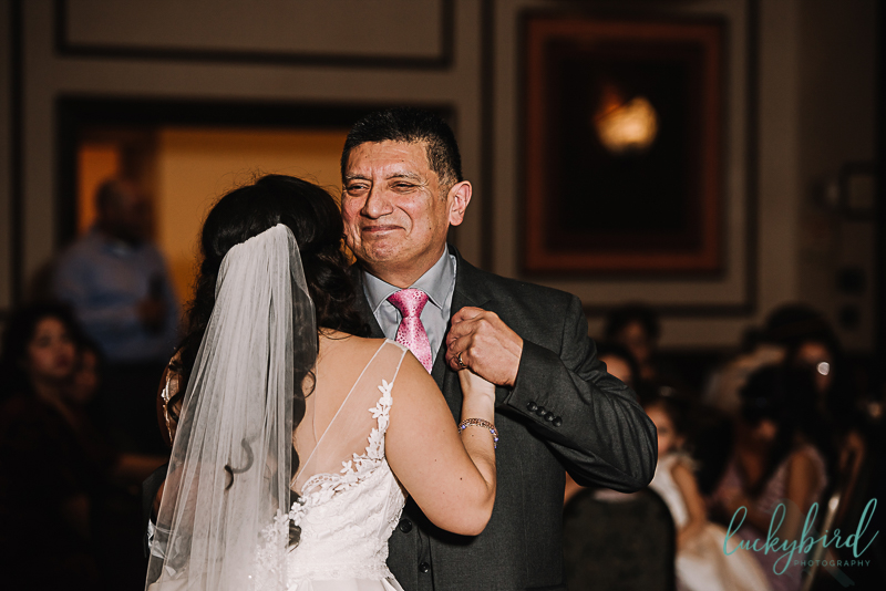 wedding first dance with dad