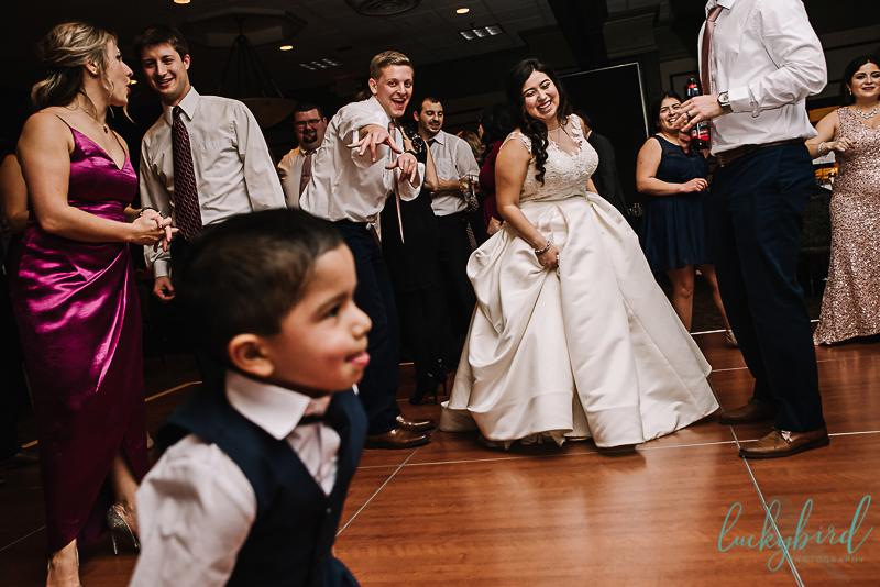 toledo wedding dancing photo