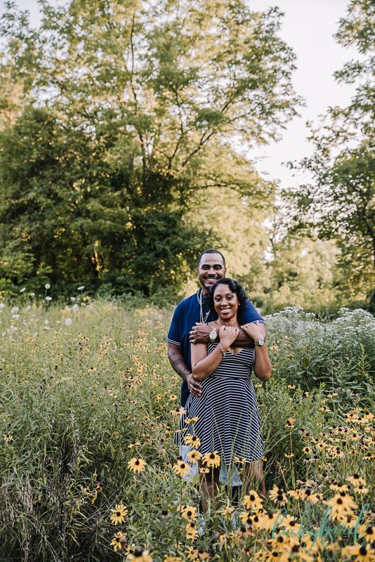 black eyes susan engagement photos