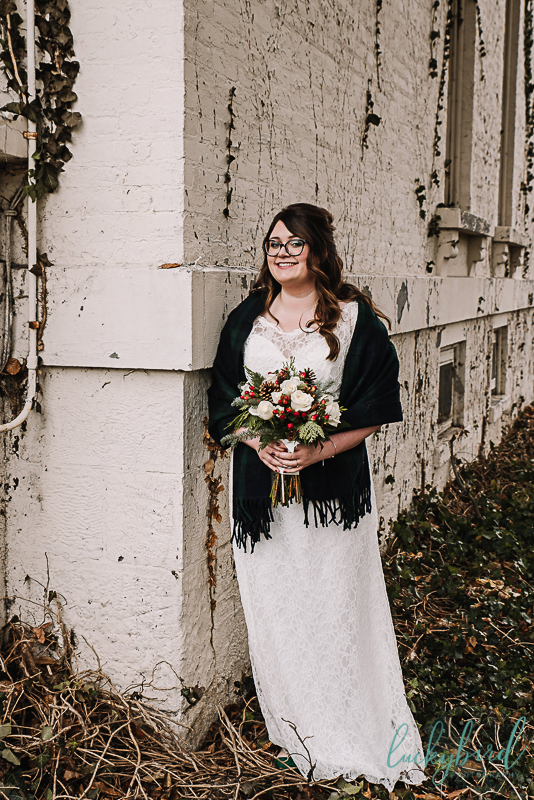 bride at collingwood arts center