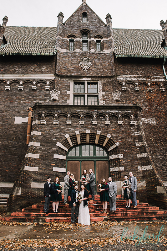 collingwood arts center bridal wedding party