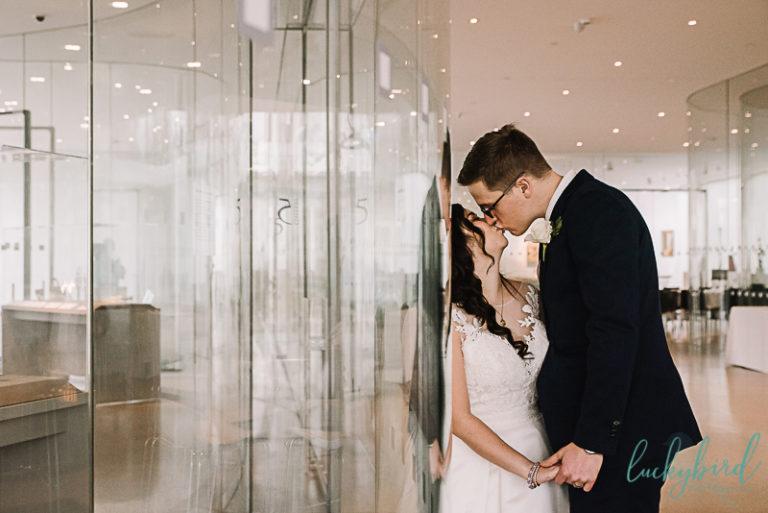Toledo Winter Wedding Photos