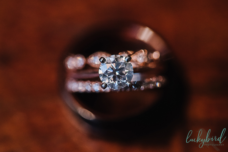 toledo rose gold wedding rings