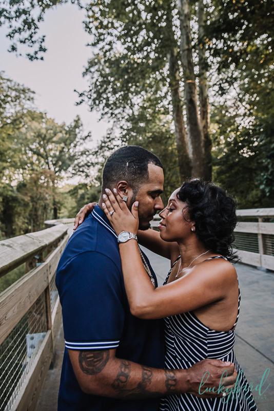 wildwood summer engagement photography