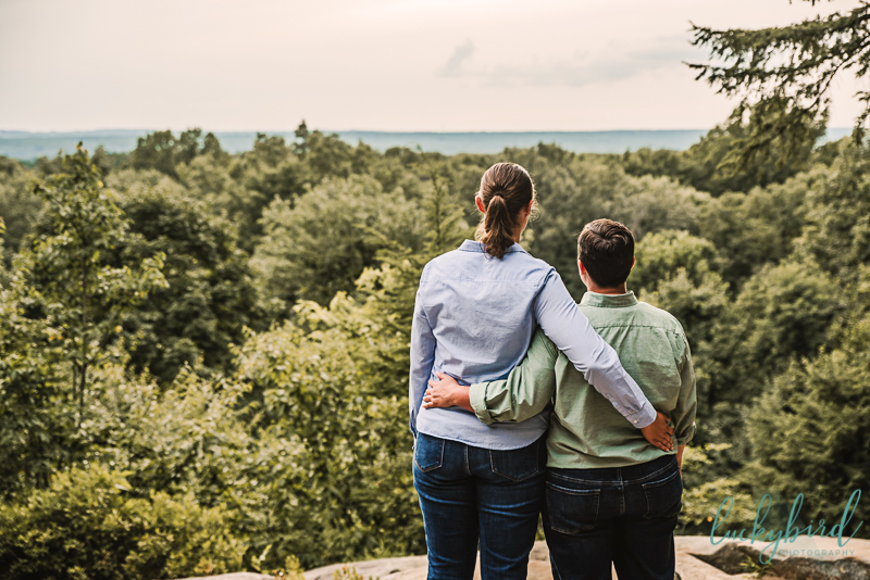 lgbt engagement session in cleveland