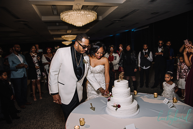 cake cutting at the stranahan toledo