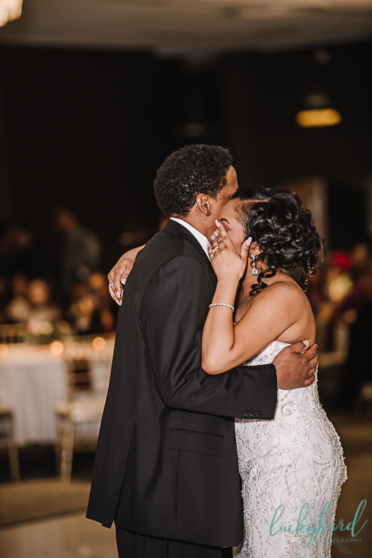 emotional father daughter wedding dance at the strannahan toledo