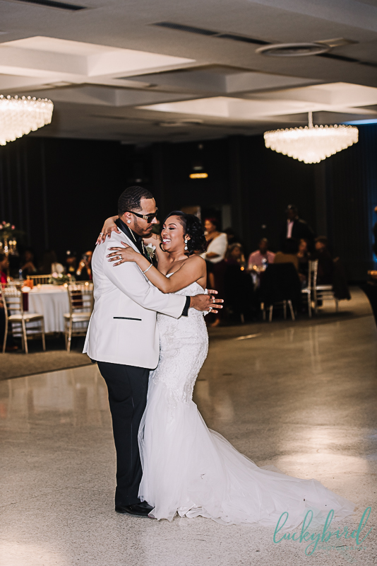 first dance at the stranahan wedding venue