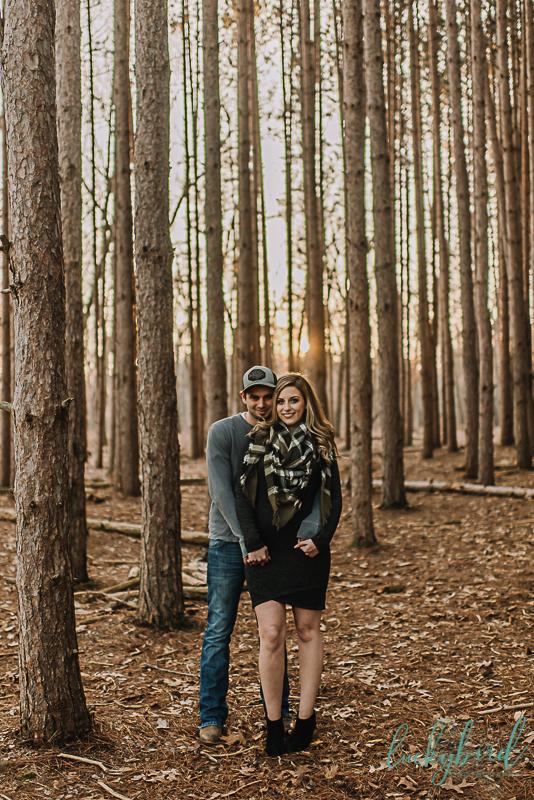 romantic toledo engagement photos