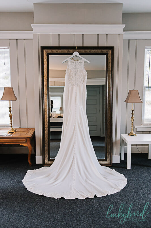 belle amour wedding dress at toledo country club