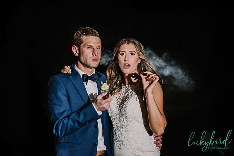 cigar toledo wedding photo