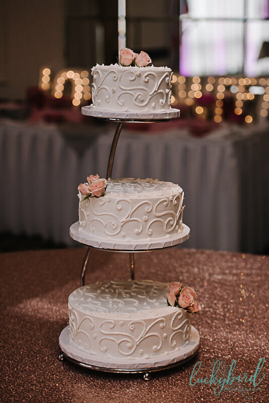 estons wedding cake at the park inn