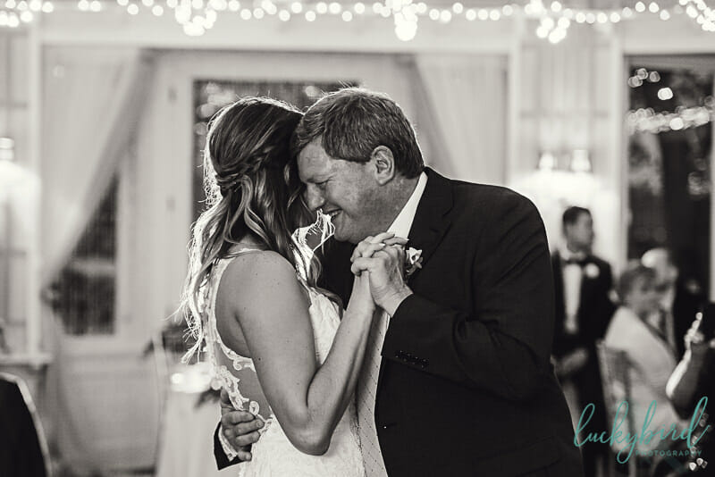 father daughter dance indoors at toledo country club
