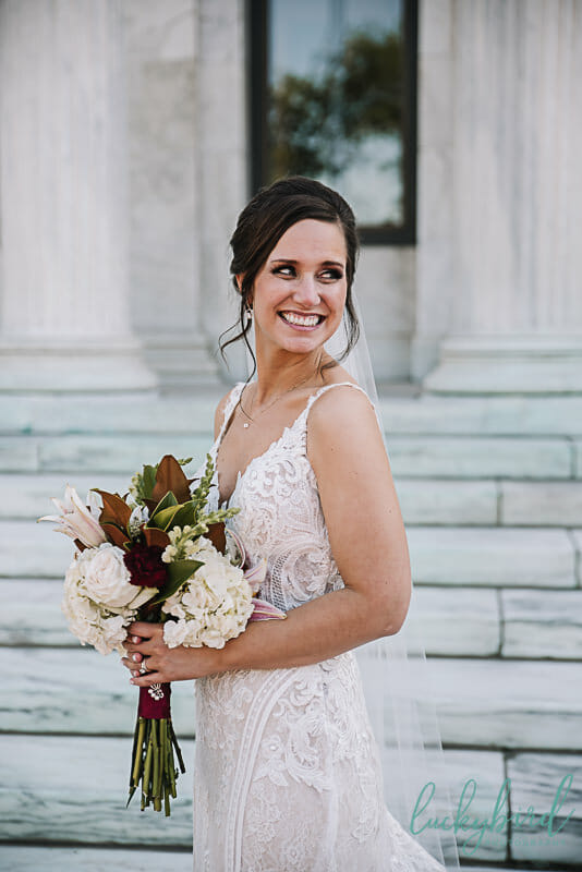 bride at the toledo museum of art