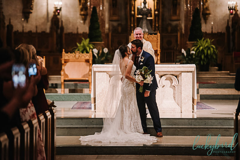 first kiss at holy rosary cathedral
