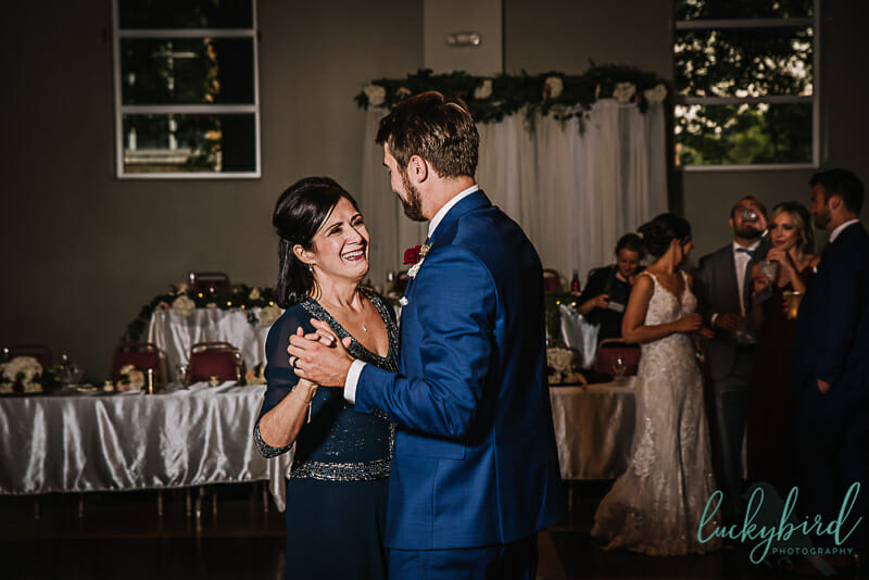 groom and his mom dancing in toledo ohio