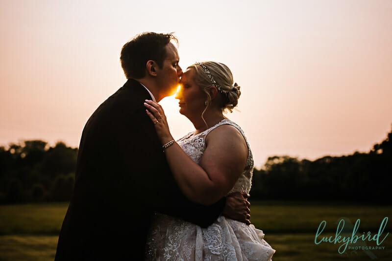 maumee ohio sunset wedding photography