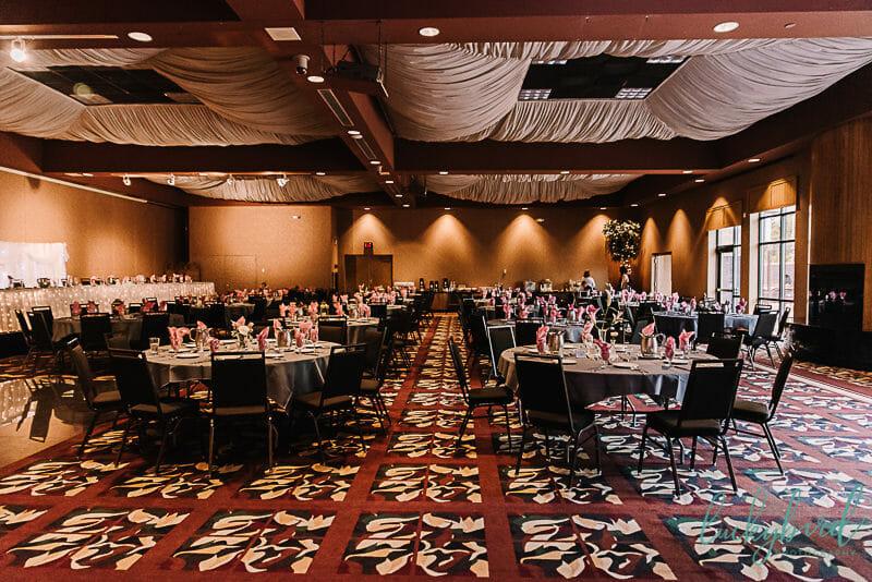 the pinnacle maumee wedding reception