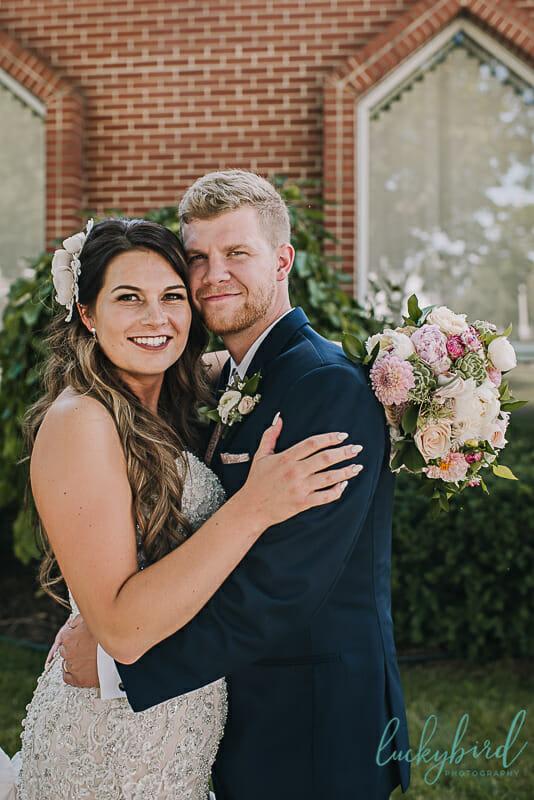 bride and groom wedding photo archbold ohio