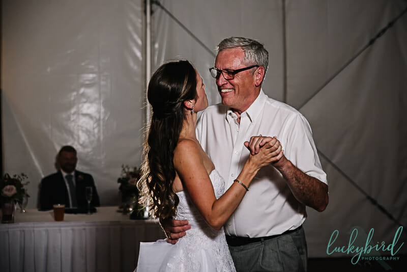 first dance father daughter at maumee bay