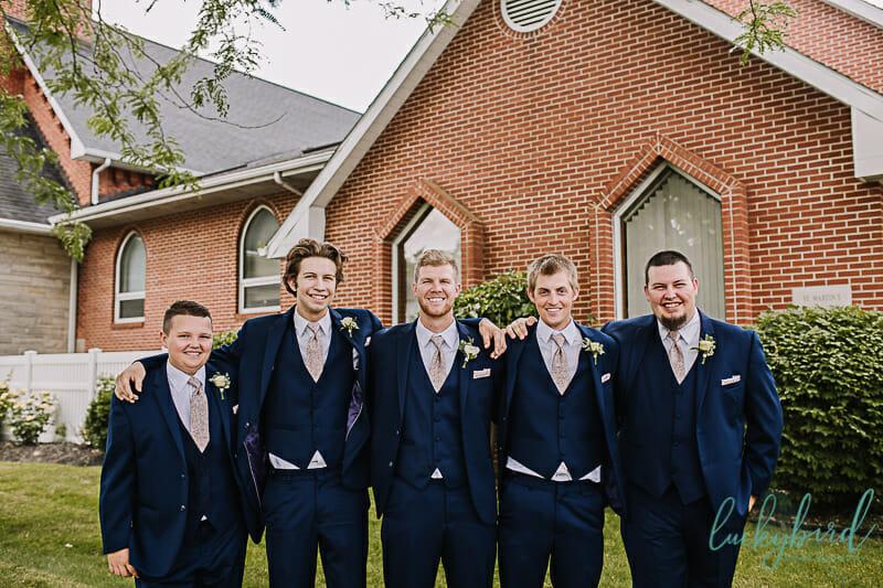 groomsmen in archbold ohio