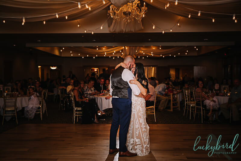stone ridge golf club wedding first dance