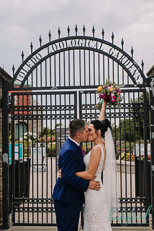 toledo zoo wedding pictures