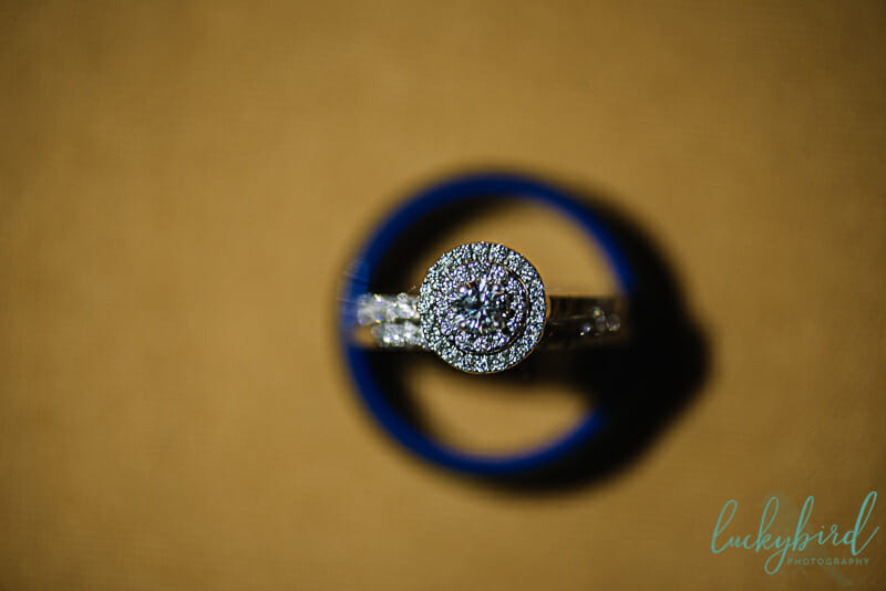 toledo zoo wedding ring photo yellow and blue