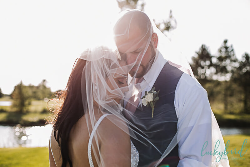 veil wedding photo at stone ridge bg